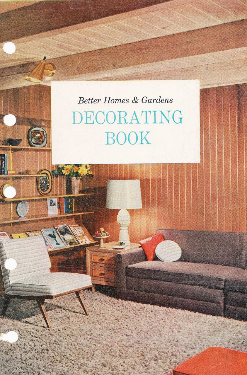 Better Homes And Gardens First Decorating Book 1956