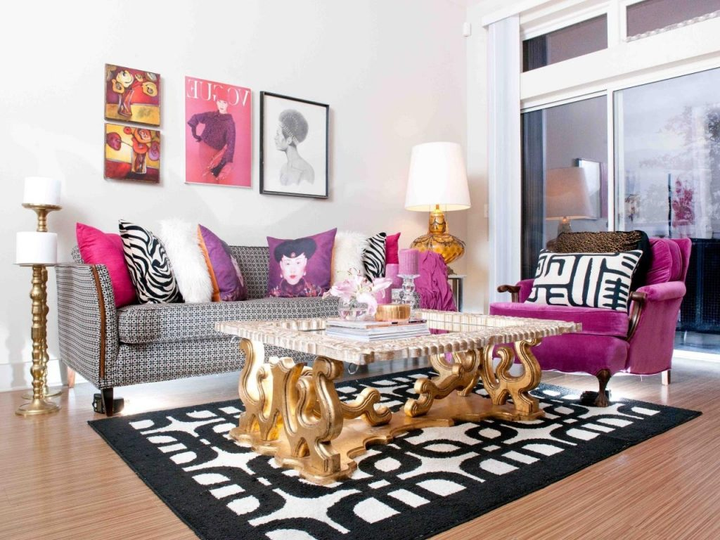 Black And Gold Living Room Furniture Combination Of Dark Grey Golden
