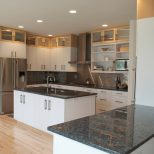 Black Granite Countertops With Cherry Cabinets Madison Art Center