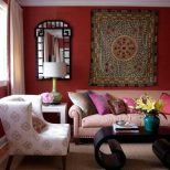 Blue Bohemian Rooms Mainbohemian Chic Pink Black Brown Blue