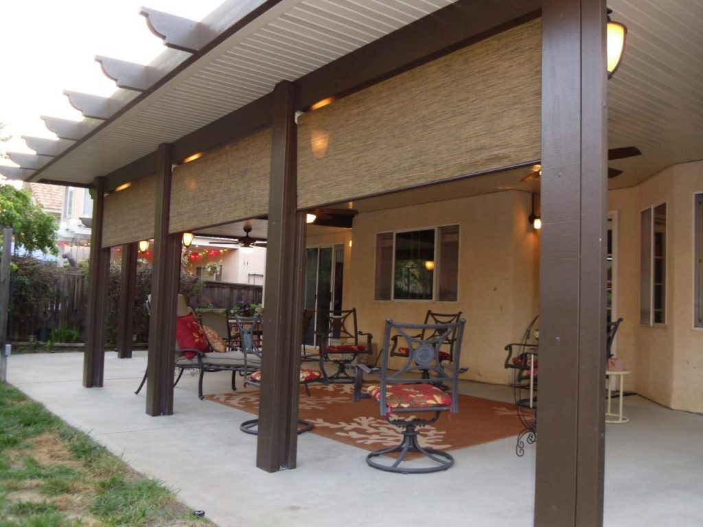 Build Aluminum Wood Patio Cover Design Idea And Decor Beautiful