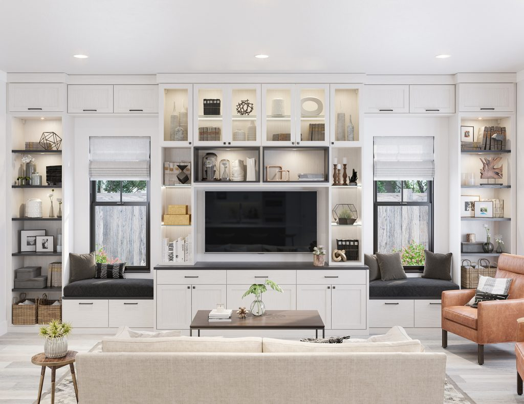 Built In Entertainment Centers Media Cabinets California Closets