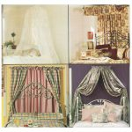 Bed Canopy Sewing Pattern Curtain