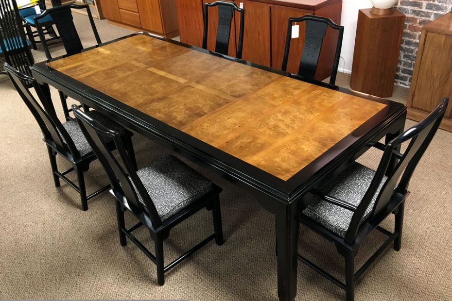 Chin Hua Asian Dining Table Century