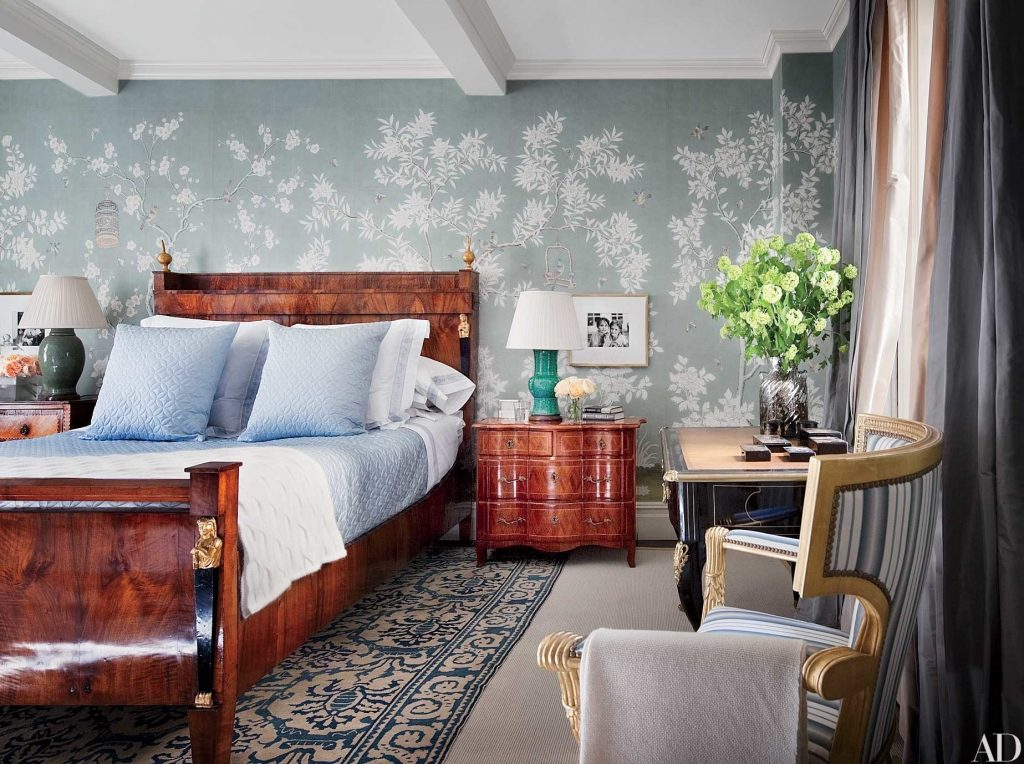Chinoiserie Wallpaper And Panels Take The Stage In These 12 Rooms