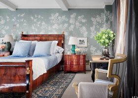 Chinoiserie Bedroom Architectural Digest