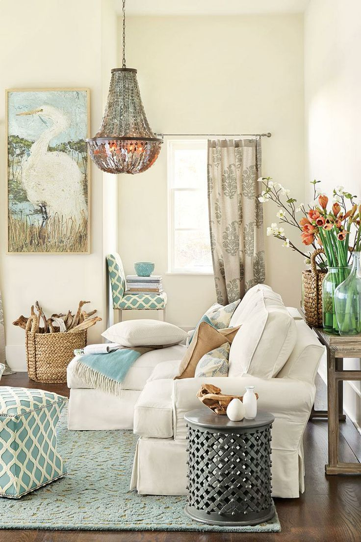 Coastal Living Room Furniture Decor Ideas Coastal Living Room With