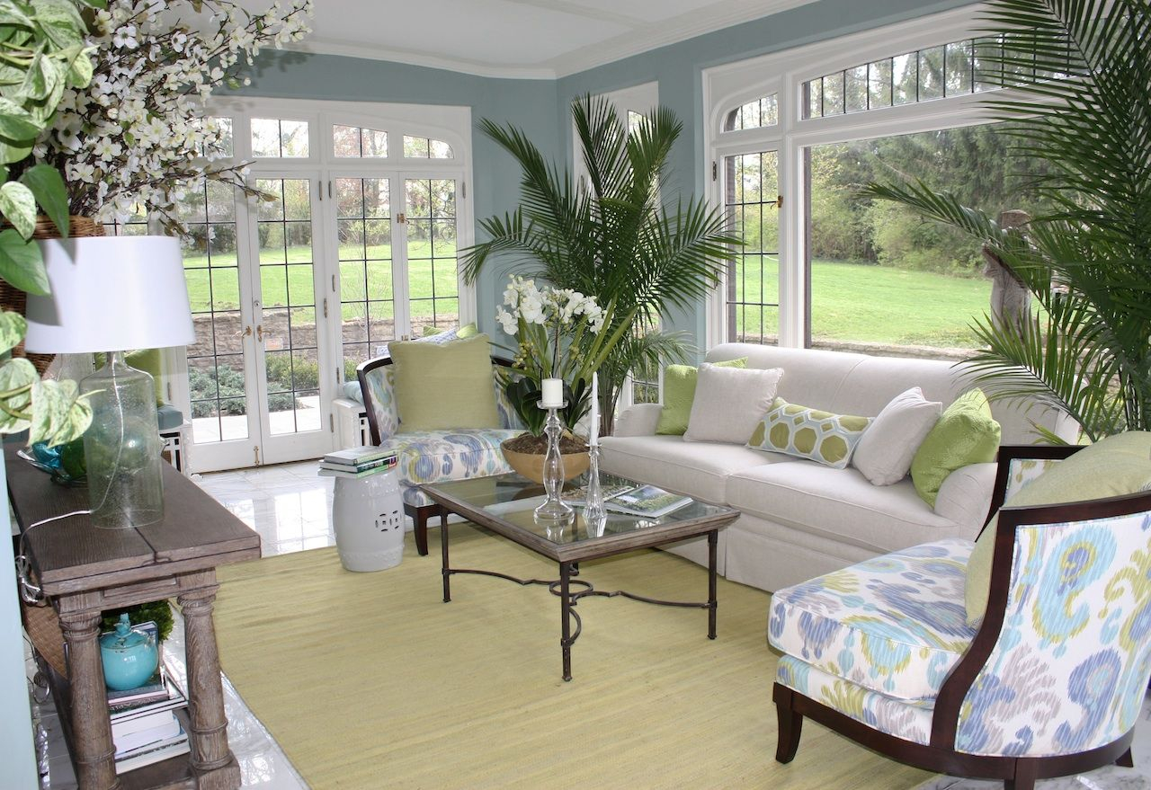 Colorsforsunrooms Soft Blue Sunroom S Wall Paint Colors With