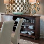 Contemporary Dining Room Mirror