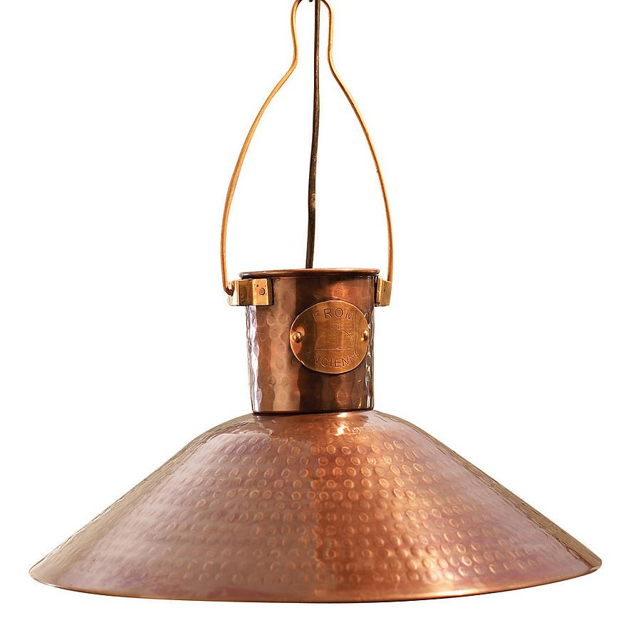 Copper Pendant Light Country Lighting Kitchen Table Dimensions