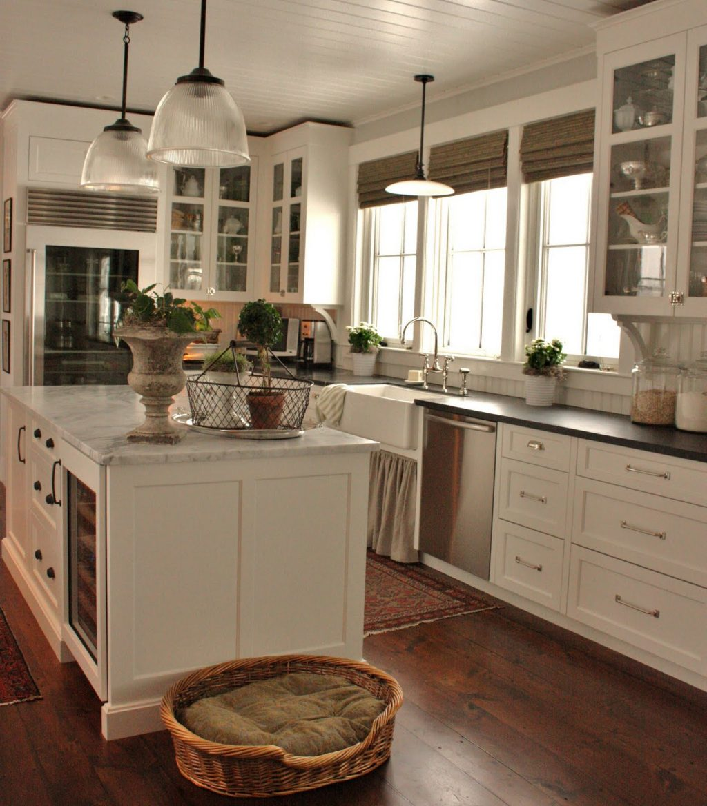 Cottage Farmhouse Kitchens Inspiring In White Fox Hollow Cottage