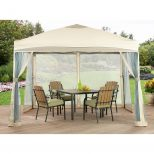 Crosley Hampton Outdoor Collapsible Gazebo