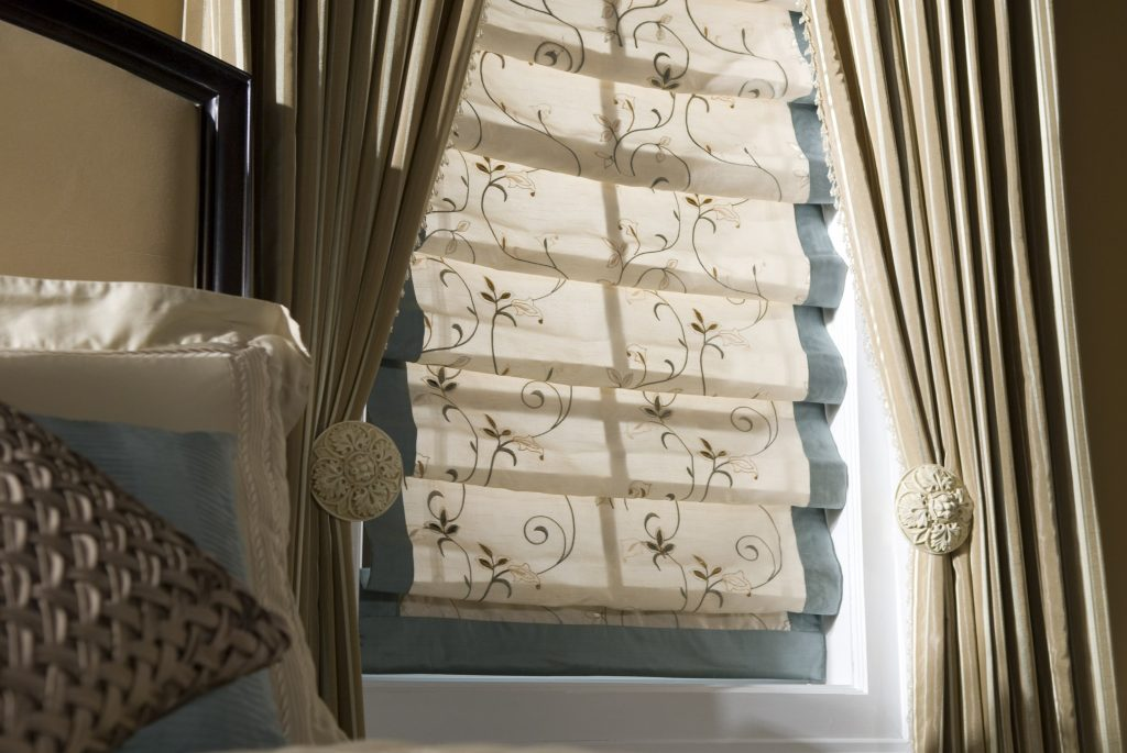 Custom Window Treatments Roman Shades Custom Draperies Fabric