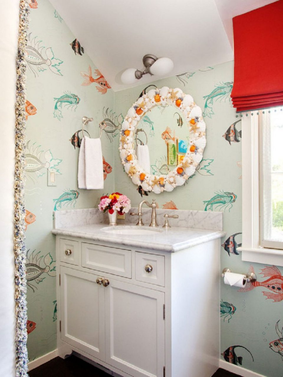 Cute Bathrooms Pictures Decor Furniture Orange Bathroom Small Fresh