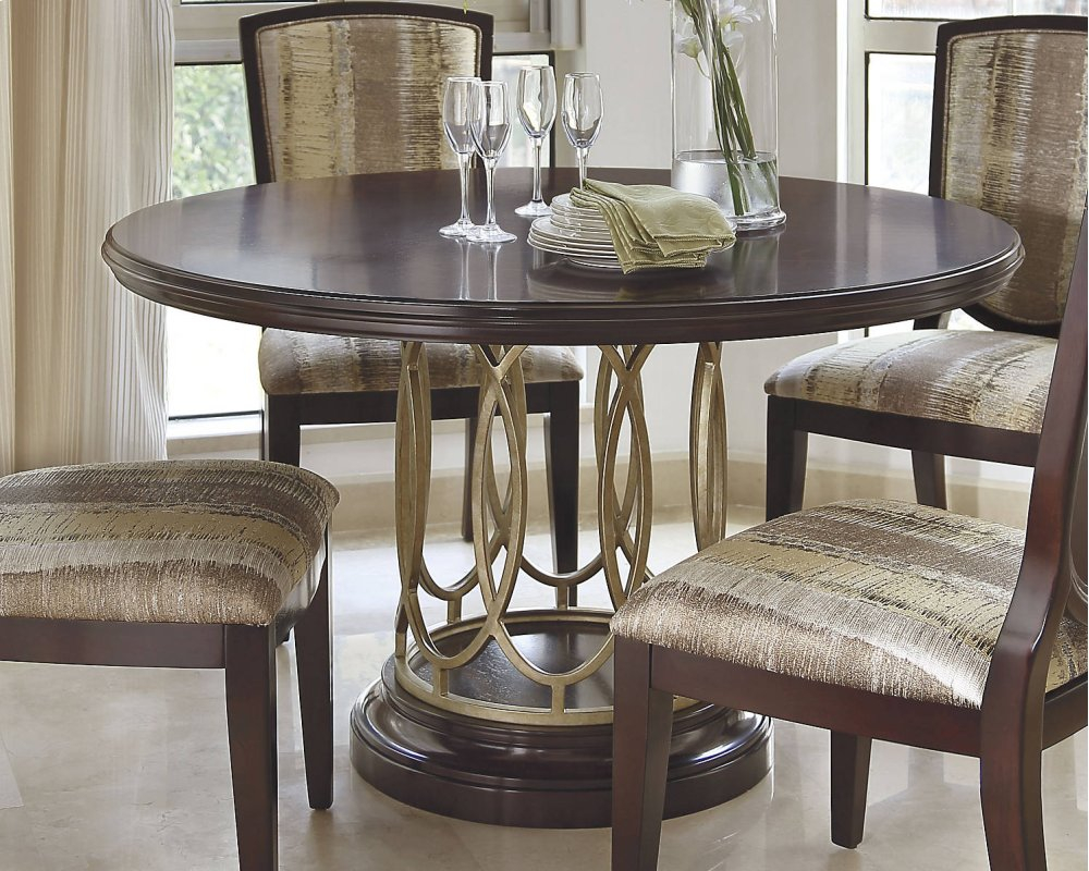 D591050bashley Furniture Round Dining Room Table Base Westco Home