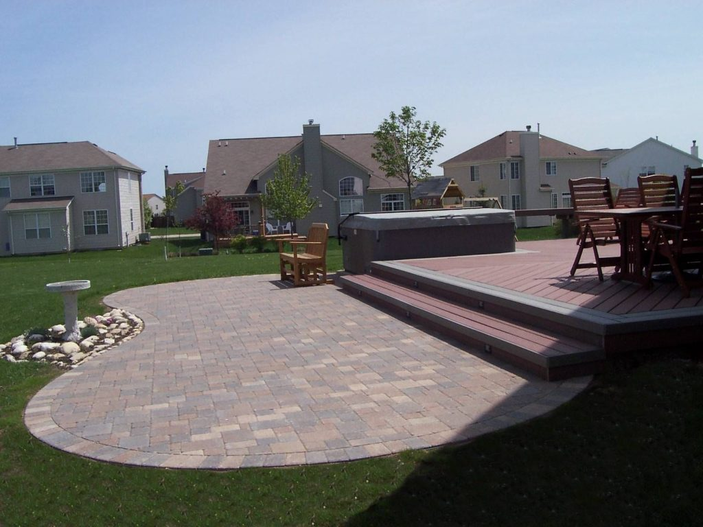 Deck Paver Patio Designs Patio Ideas