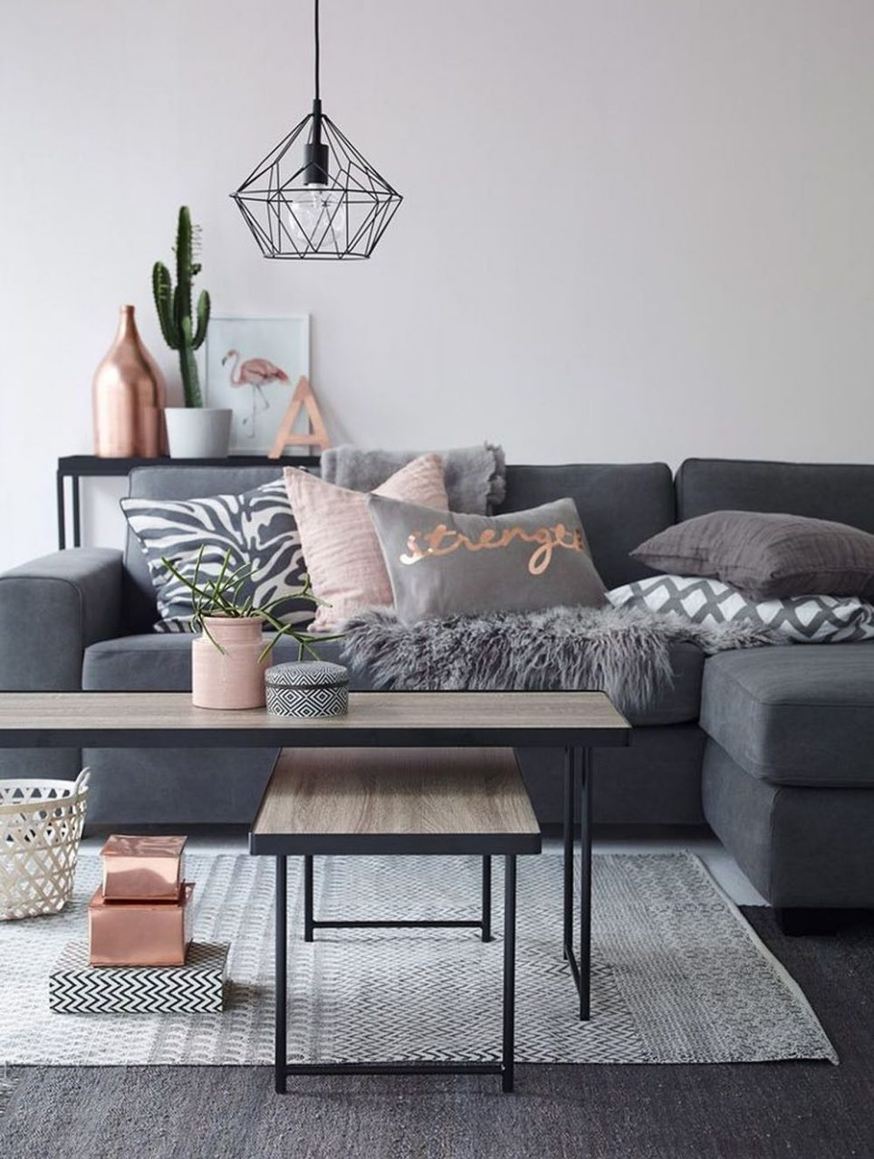 Decorating With Dusty Pink Cool Decoraciones De Casa Decoracin