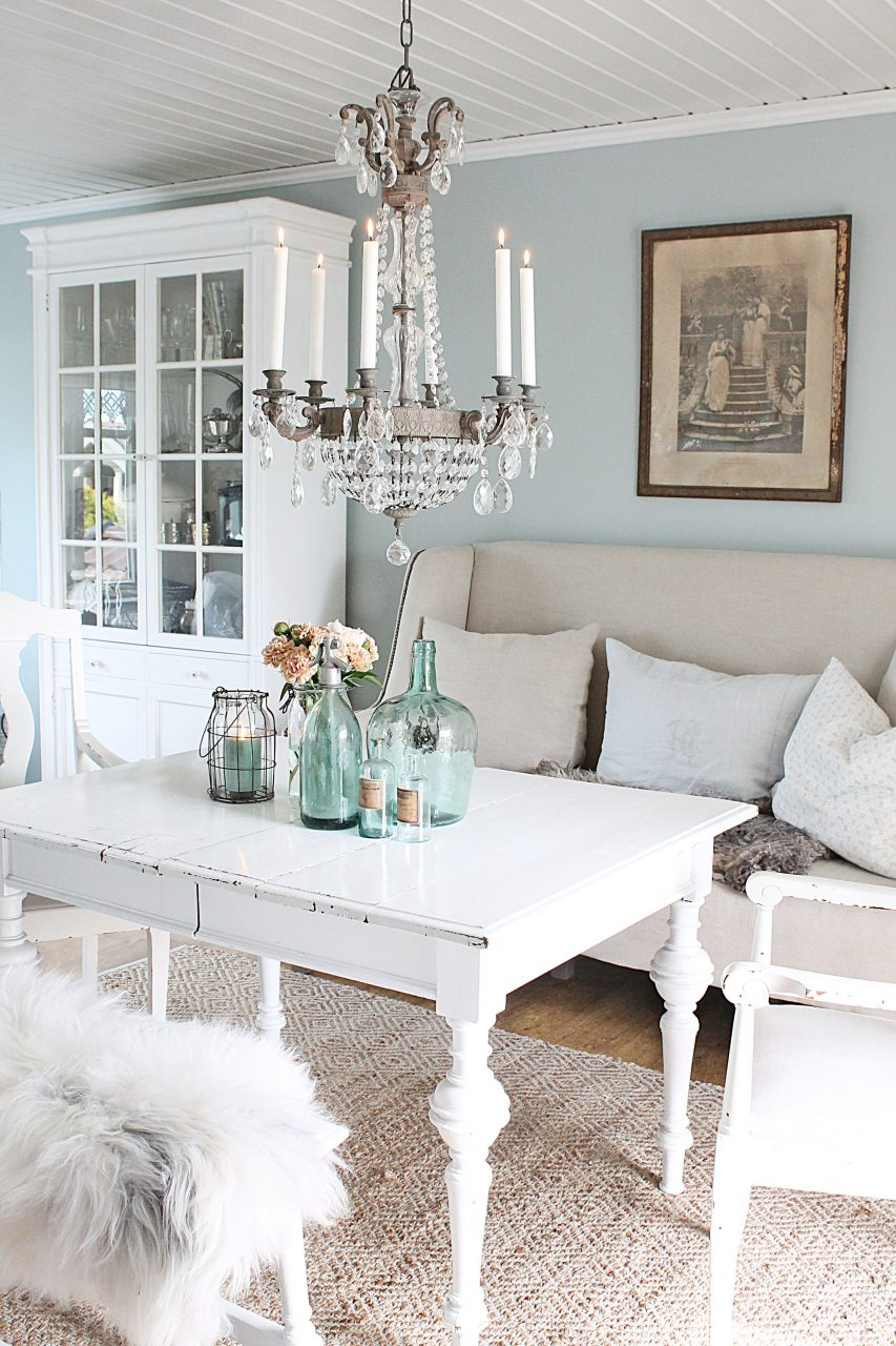 Dining Room White Home Decor Ideas Shab Chic Dining Room