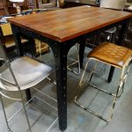 Rustic Industrial Dining Room Table