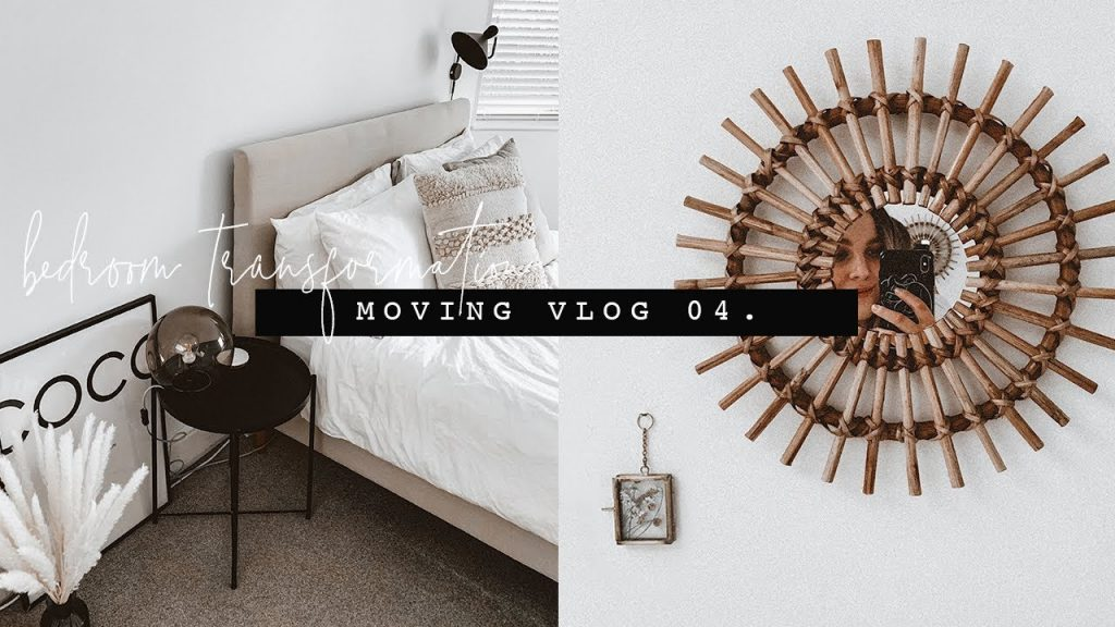 Diy Bedroom Makeover Moving Vlog 04 I Covet Thee