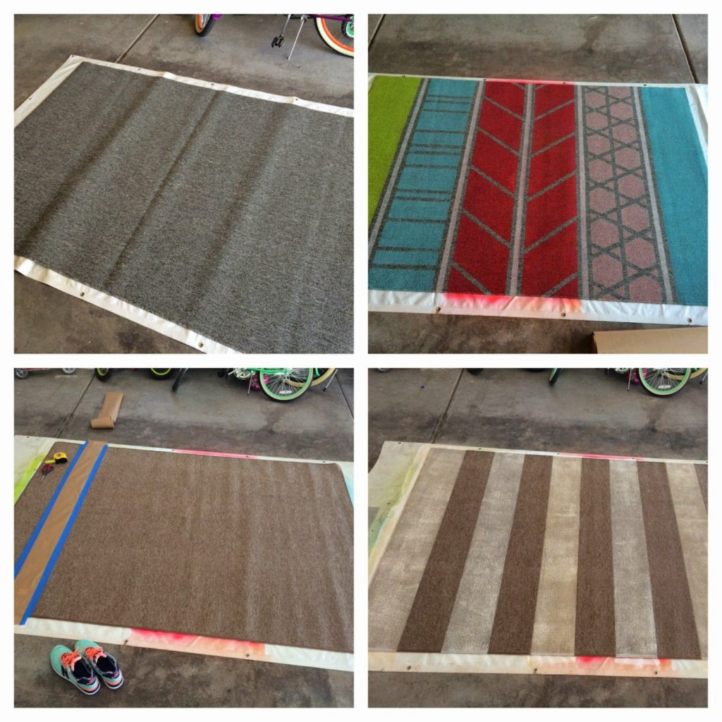 Diy Repurpose An Old Rug Or Make A New One From A Cheap Rug 40
