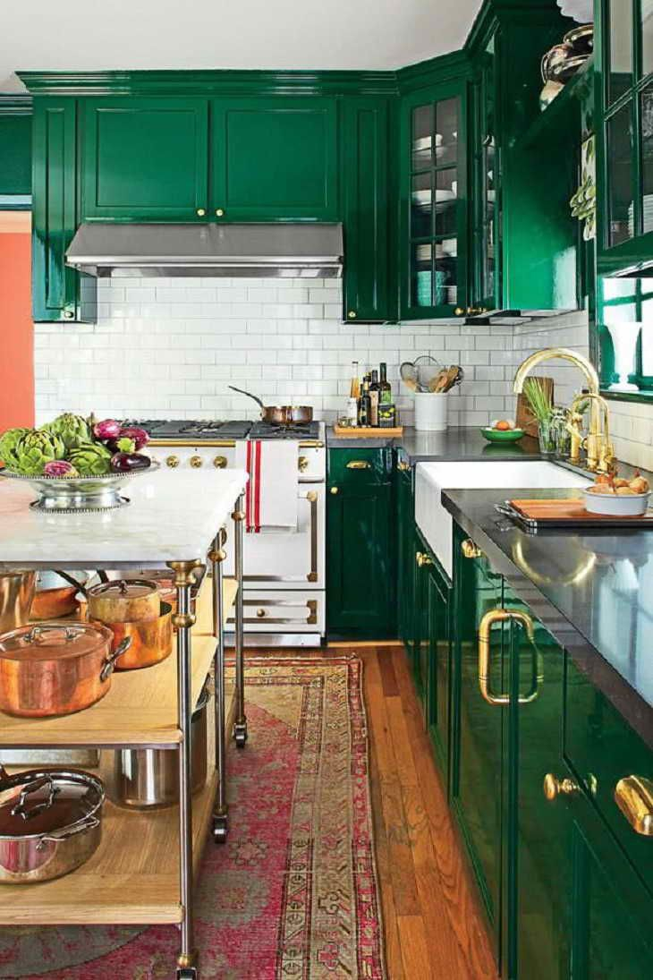 Emerald Green Kitchen Cabinets Cabinets Guide In 2019 Green