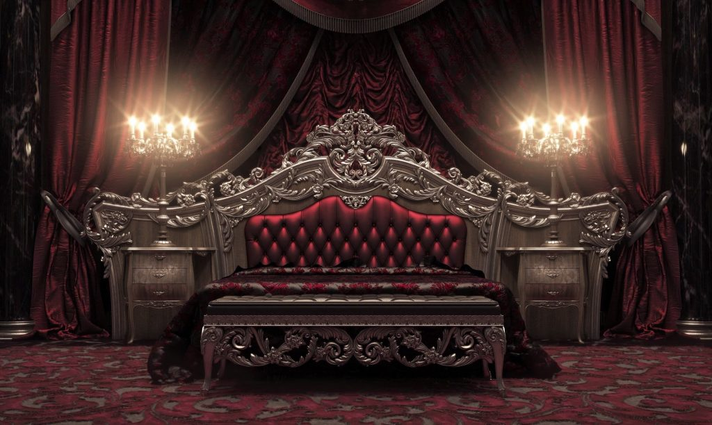 European Style Luxury Carved Bedroom Set Top And Best Italian