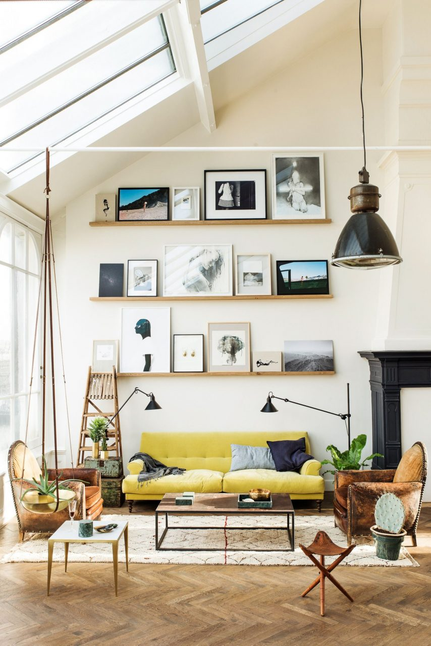 Examine Modsys Board Eclectic Living Room Upon Pinterest See