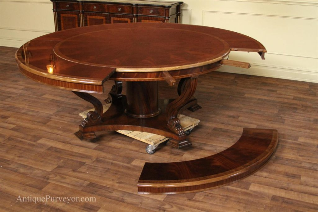 Extra Large Round Dining Room Tables Barn Kitchen Table