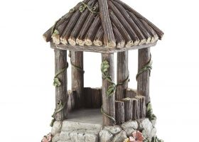 Wooden Fairy Garden Gazebos