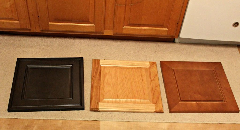 Farmhouse Style Kitchen Cabinet Door Decor Organized Clutter