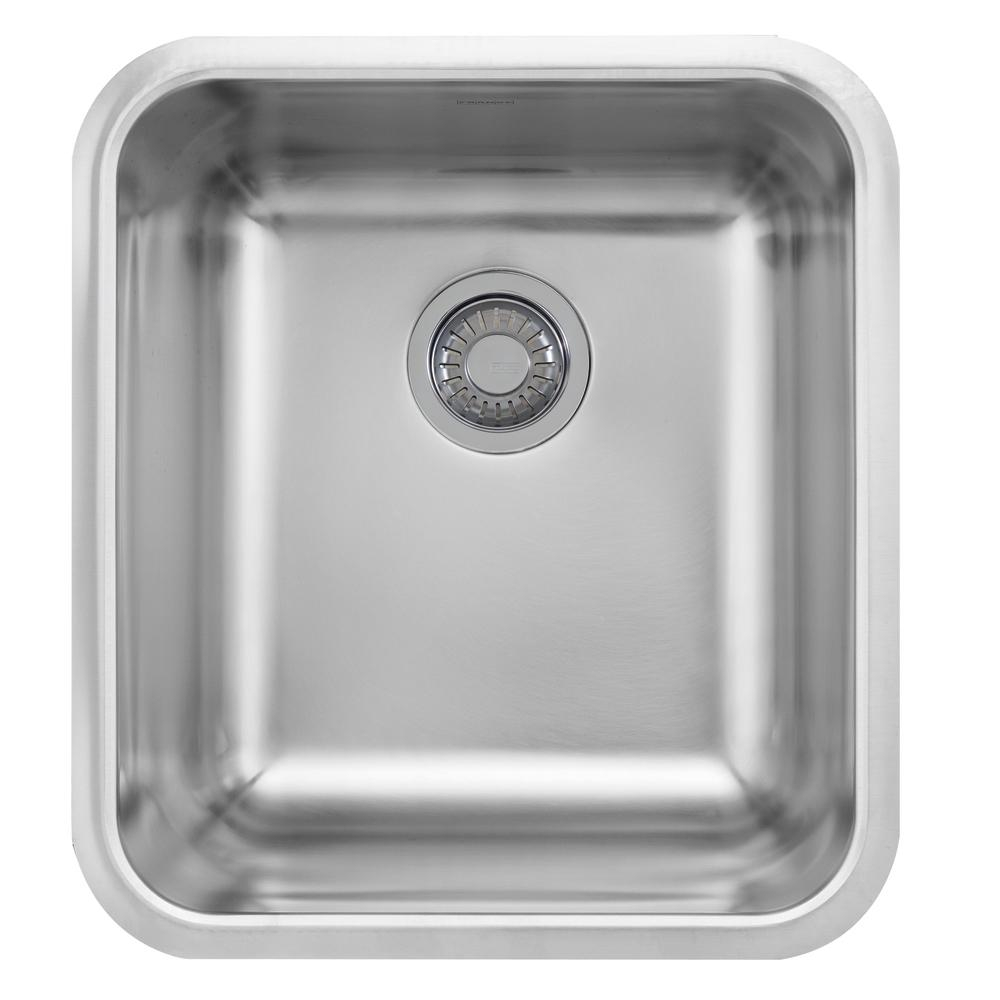 Franke Grande Undermount Stainless Steel 215 In X 1975 In Single Bowl Kitchen Sink