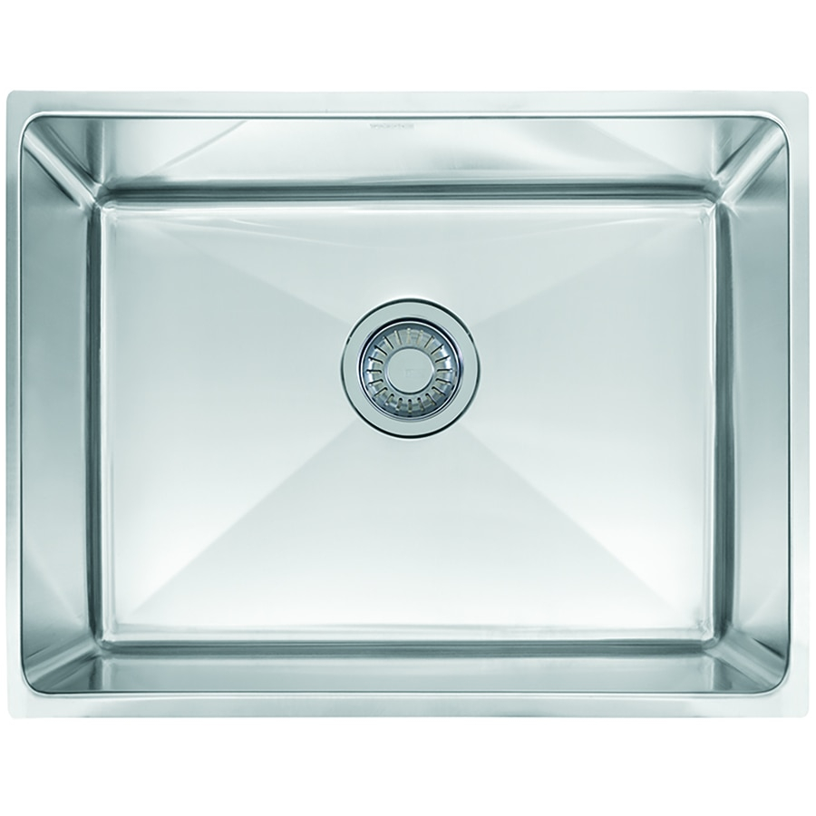 Franke Professional 225 In X 17625 In Stainless Steel Single Basin