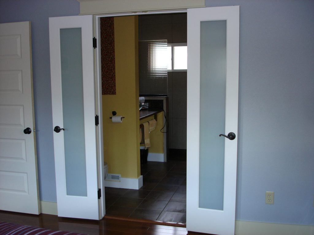 French Full Light Double Doors Home Remodeling Boise Idaho