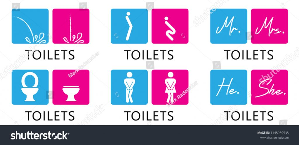 Funny Fun Toilet Toilets Wc Icon Stock Vector Royalty Free 1145989535
