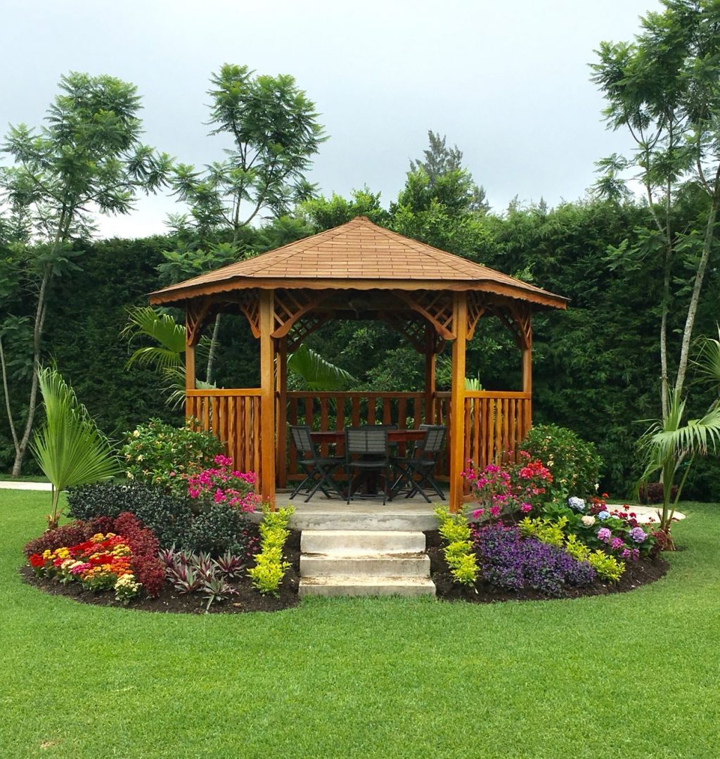 Gazebo De Madera Wooden Gazebo Beautiful Gazebo In 2019