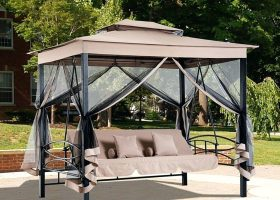 Regency Swing Gazebo