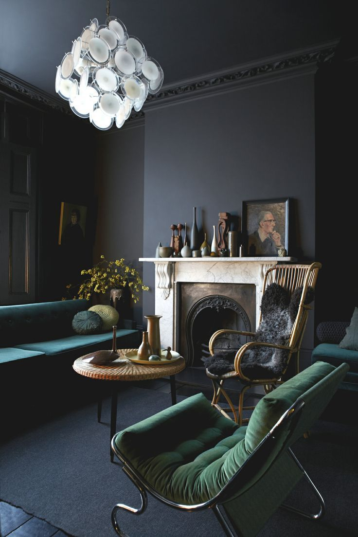 Get Your Fall On 13 Perfectly Moody Eclectic Living Rooms Top