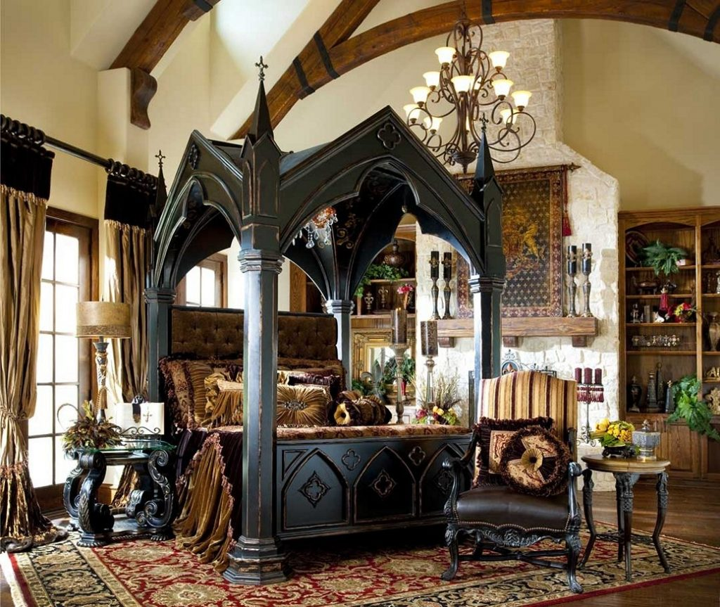 Gothic Bedroom Furniture For Classy Look To Your Bedroom Tharavu