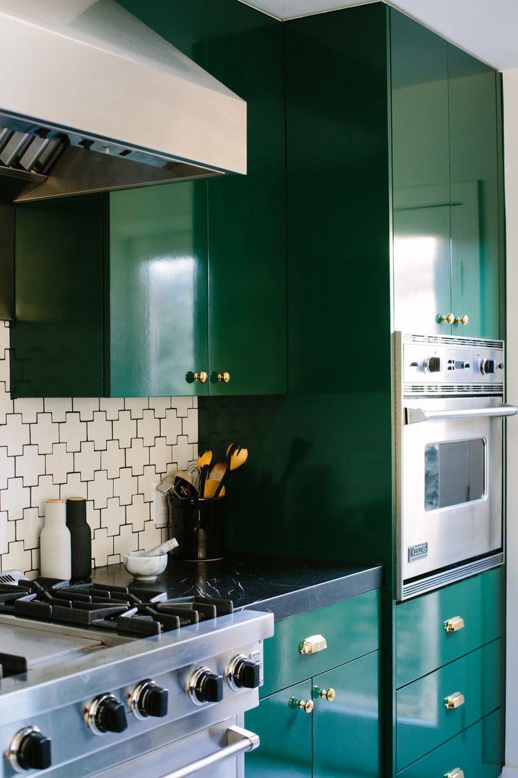 Green Emerald Kitchen Kitchen Decor Interior Design