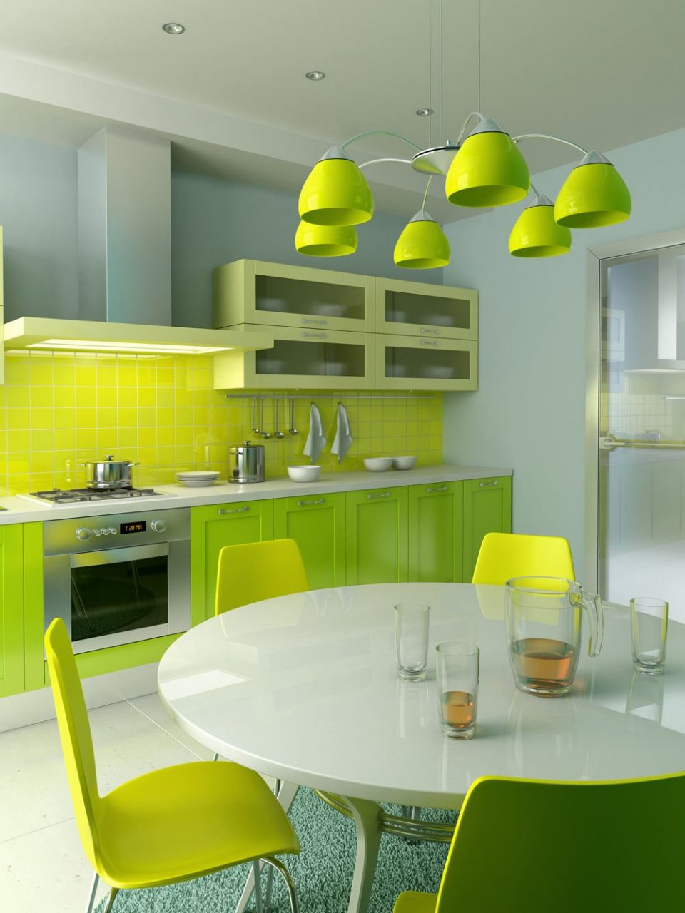 Green Kitchens For The Home Green Kitchen Inspiration Green