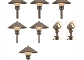 Landscape Lighting Path Light Bronze