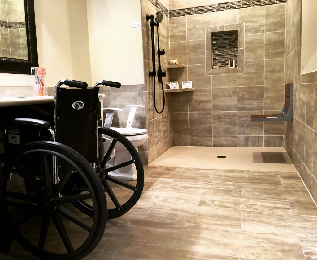 Handicap Shower Accessible Systems