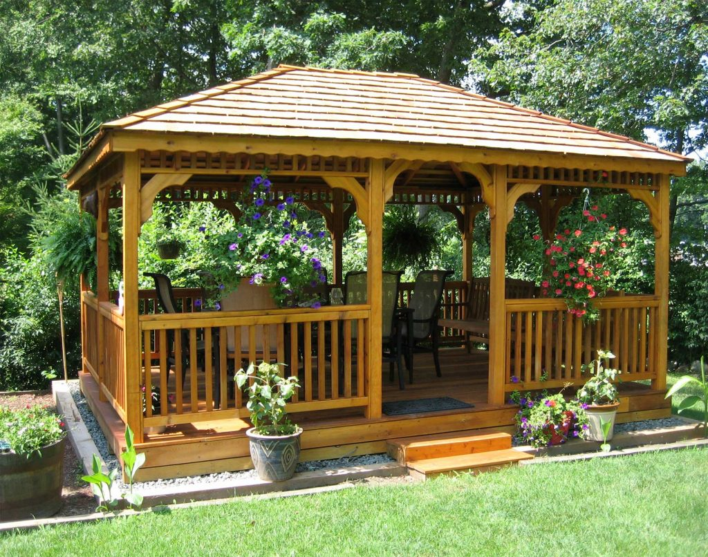 High Resolution Outside Gazebos 8 Backyard Deck Designs With