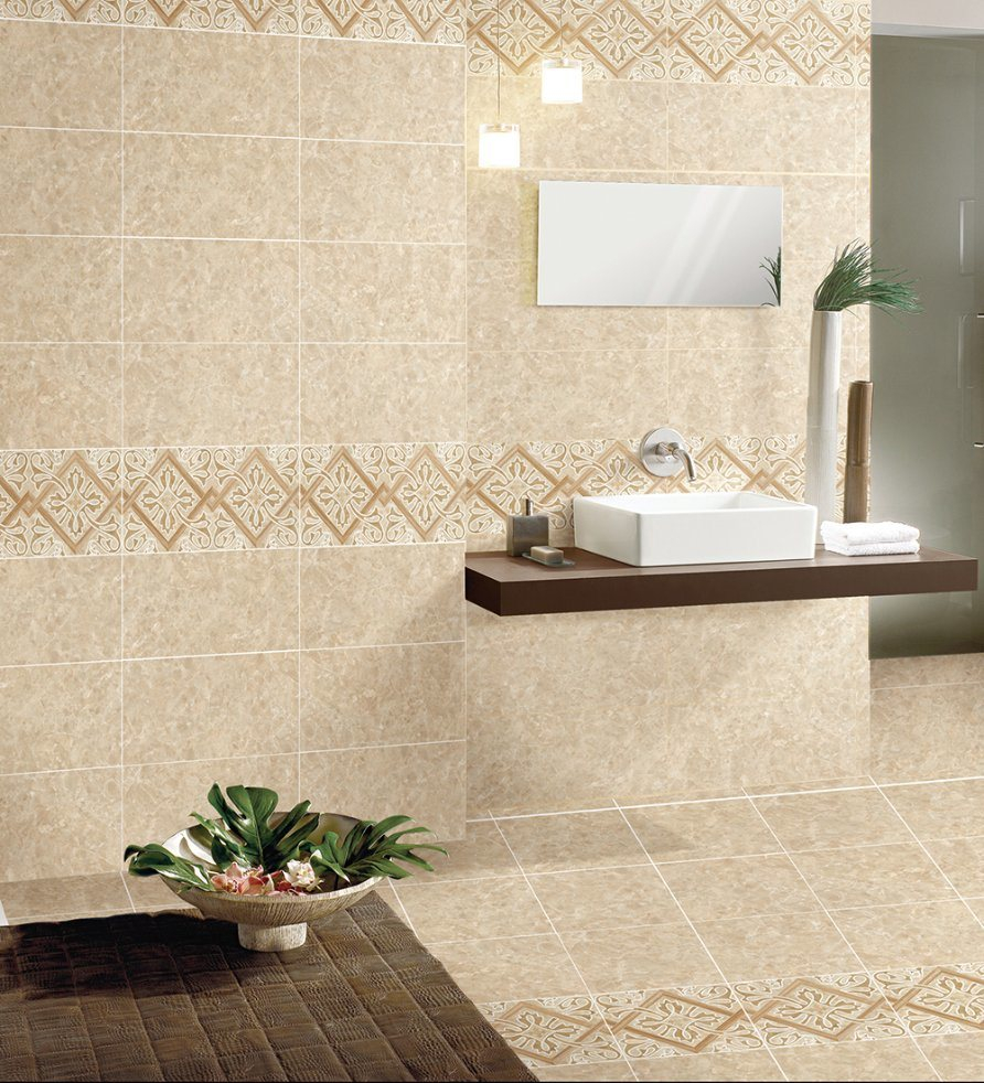 Hot Item Brown Pakistan Stone Ceramics Bathroom Wall Tile Floor Tile