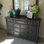 How To Stage A Dresser Bedrooms In 2019 Dresser Top Decor
