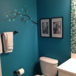 White and Teal Bathroom Ideas