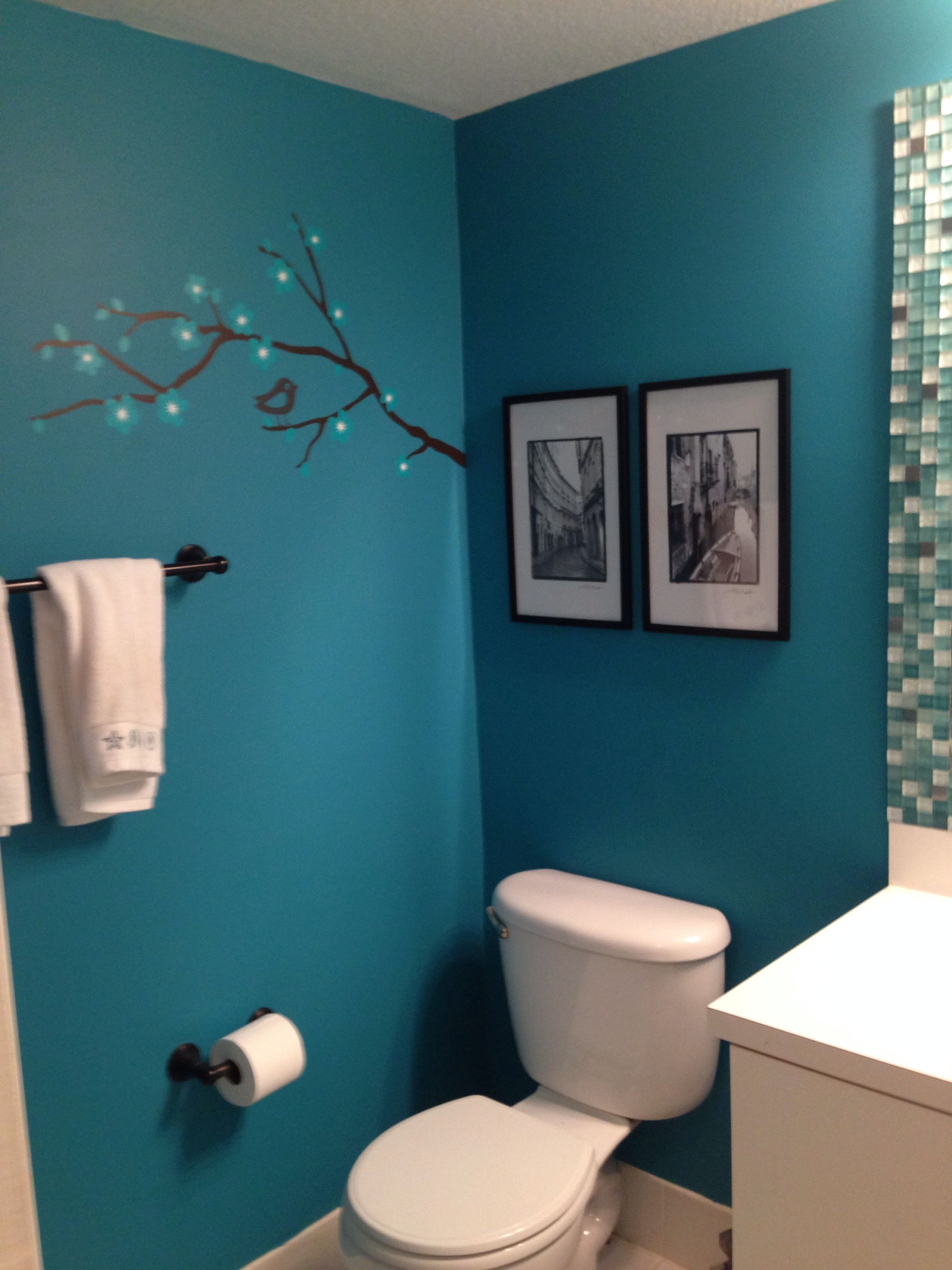 I Would Love Black And Whites In Our New Teal Bathroom New House
