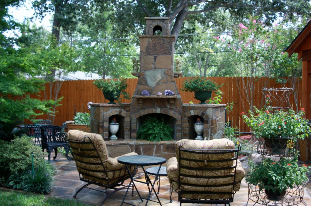 Incredible Decorate Around Fireplace Outdoor That No One Can Resist