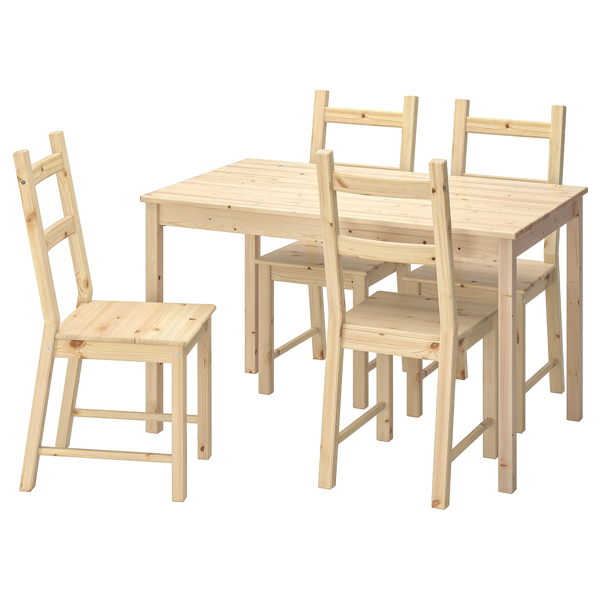 Ingo Ivar Table And 4 Chairs Pine